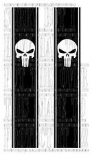 Punisher skull hi lux L200 navara 4X4 pick up truck side stripe graphique vinyle