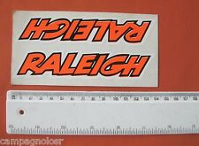 VINTAGE ORIGINAL RALEIGH BICYCLE FRAME STICKER / DECAL NEW OLD STOCK N.O.S