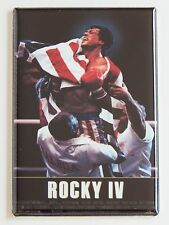Rocky 4 FRIDGE MAGNET (2 x 3 inches) movie poster sylvester stallone boxing