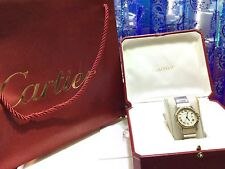 Cartier Santos Octagon Midsize 18K Yellow Gold & SS Watch