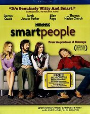 BRAND NEW BLU-RAY// SMART PEOPLE //DENNIS QUAID, SARAH JESSICA PARKER,