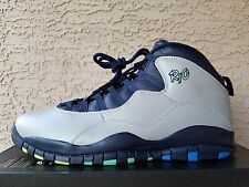 "Nike Air Jordan Retro 10 Wolf Grey Photo blue ""Rio City Pack"" 310805-019 Size 15"