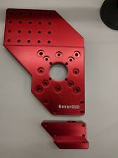RoverCNC - CNC Legs with Levelling Blocks - Anodized RED
