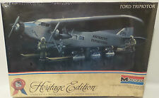 AVIATION : FORD TRIMOTOR MONORGRAM SCALE MODEL KIT (MLFP)