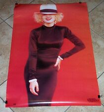 MADONNA BREATHLESS MAHONEY IN HAT DICK TRACY MOVIE POSTER ORIGINAL PACKAGE