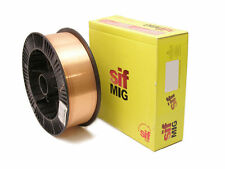 Mig Welding Wire - Mild Steel - 1.2mm 15KG A15 - SIF High Quality copper coated