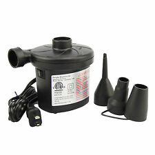 AC Electric Air Pump Inflate Deflate For Toys Air Bed Compression Bag Mattress