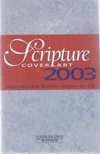 Scripture Cover Art 2003 w/ Manual PC CD reproducible bulletin church images!