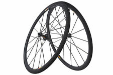 Mavic R-SYS SLR Road Bike Wheel Set 700c Aluminum Tubular Campagnolo 10/11 Speed