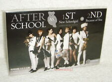 After School New Schoolgirl + Because of You Taiwan CD -Special Edition-
