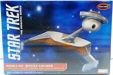 STAR TREK: ROMULAN BATTLE CRUISER MODEL KIT MADE BY POLAR LIGHTS - 1/1000 SCALE