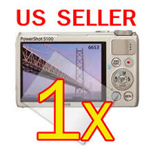 1x Canon PowerShot S100 Digital Camera LCD Screen Protector Cover Guard Fil