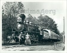 Locomotive Stone Mountain Railway Georgia Press Photo