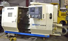 OKUMA #LU-15W CNC TURNING CENTER