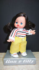 "Vintage MINI FURGA Doll 6"" TILLY Of Tina e Tilly Series Kissy Lips ITALY - NIB!"