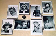 Tarjeta De 8 Impreso Toppers-Cumpleaños-icónico años 50, años 60 & años 70 estrellas de cine