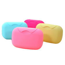 Bathroom Dish Plate Case Soap Box Shower Travel Hiking Holder Container Hot