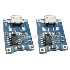 2 pcs TP4056 5V Micro USB Port 1A Lithium Battery Charging Module Board Charger