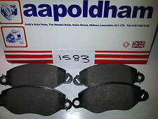 FORD TRANSIT MK6 00-06 FWD 2.0 DI / TDCI  MODELS ONLY NEW SET FRONT BRAKE PADS