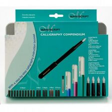 Manuscript Calligraphy Compendium 30 Piece Hand Writing Set ~ NEW