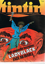 ▬► TINTIN N° 16 de 1980 LADY BLACK Archives Moulinsart