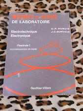 Mesures et essais de laboratoire, fasc. 1 - Dubuis, Surville - Gauthier-Villars