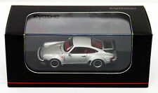 Kyosho Original KS07048A13 Porsche 911 Turbo 930 Silver Metallic 1/64 scale