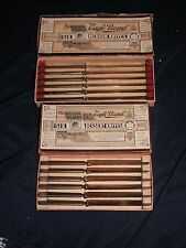 "12 William Rogers ""Eagle Brand"" Dessert Knives and Medium Knives 2 boxes of 6"