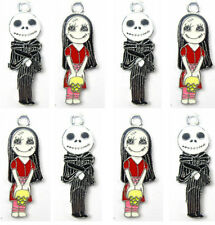 Mix 40Pcs The Nightmare Before Christmas Accessories Metal Charm pendants G24
