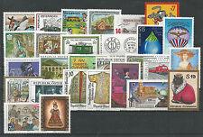 Österreich Jahrgang 2001  postfrisch  komplett