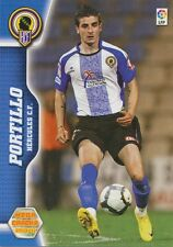 N°142 PORTILLO # HERCULES.CF CARD PANINI MEGA CRACKS LIGA 2011