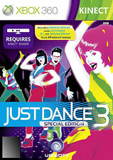 Just Dance 3 (Microsoft Xbox 360, 2011) Special Edition