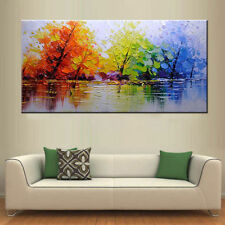 Modern Abstract Art Hand-painted Oil Painting On canvas Wall Deco(No Frame)