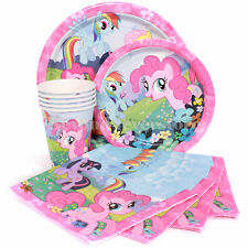 New My Little Pony Birthday Party Express Pack 8 guests (Plates,Cups,Napkins)