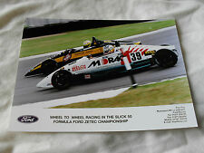 8 X 6 Motorsport Press Photo-Slick 50 Formula Ford Zetec campeonato