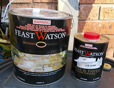 "Feast Watson ""PAVING &SANDSTONE SEALER"" 4 Litre can  - pick up only PLUS BONUS"