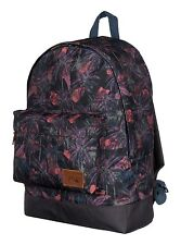 QUIKSILVER POSTER MODERN ORIGINAL BACKPACK SWEATY PALM BLACK   EQYBP03153 KVJ6