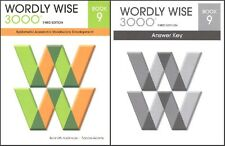 Wordly Wise 3000 Grade 9 SET -- Student and Key NEW  *3rd edition*