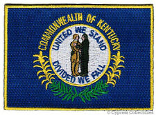 KENTUCKY STATE FLAG embroidered iron-on PATCH EMBLEM KY