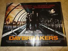 DAYBREAKERS movie poster (UK Quad) ETHAN HAWKE, WILLEM DAFOE - 30 x 40 inches