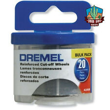 NEW Dremel 426B 20 Piece 1-1/4-Inch Reinforced Rotary Tool Cut-Off Wheels