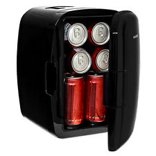 Magnasonic Portable 8 Can Mini Fridge Cooler & Warmer, 110V & 12V AC/DC Power