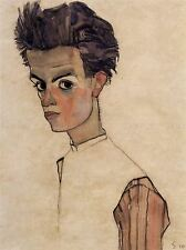 EGON SCHIELE SELF PORTRAIT OLD ART PAINTING PICTURE POSTER ART REPRO 836OMLV