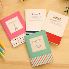 Sweet Cartoon Notepad Paper Notebook Journal Diary Exercise Book Stationerys
