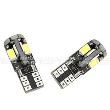 2x T10 8SMD LED WHITE NUMBER PLATE LIGHT CANBUS FREE ERRO BMW E87 1 SERIES 03-11