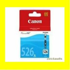 original Cartridge CANON PIXMA CLI 526 cyan iP4850 4950 iX6550 MG5250 5350 6150