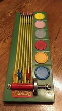 Vintage 1930's Wolverine Gee-Wiz Tin Horse Race Game