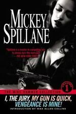 MIKE HAMMER COLLECTION: I, THE JURY Mickey Spillane +1 SIGNED Autographed Book