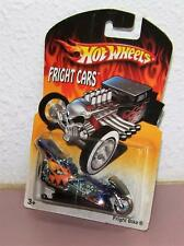 2007 Hot Wheels Fright Cars Fright Bike Motorcycle with Stand