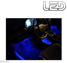 Renault ESPACE 4 IV PH2 4 Ampoules LED Bleu Blue Eclairage Sol Pieds Tapis